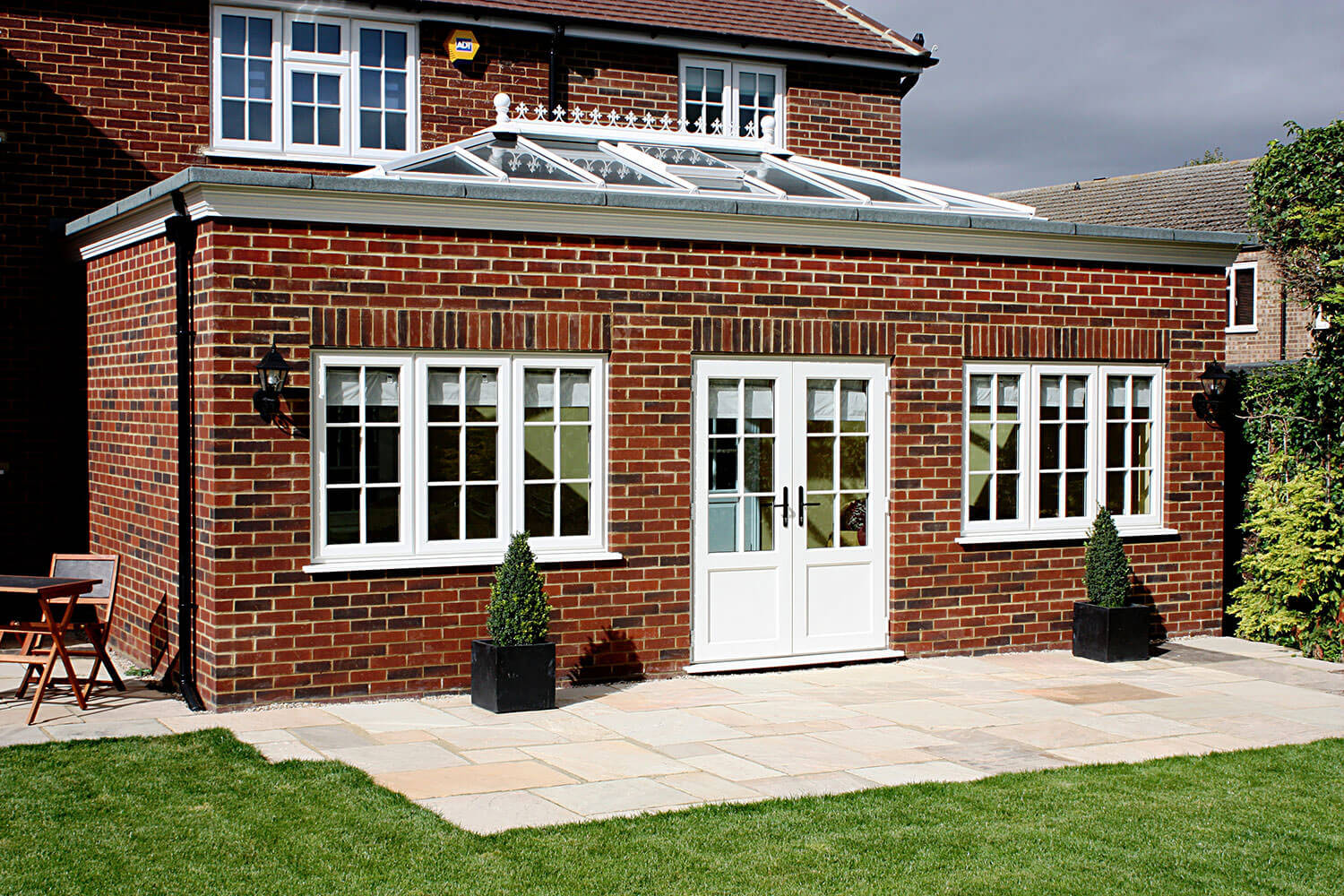 Beautiful modern orangery