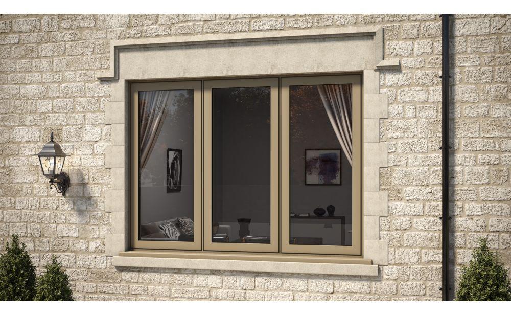 Brown AluK Window