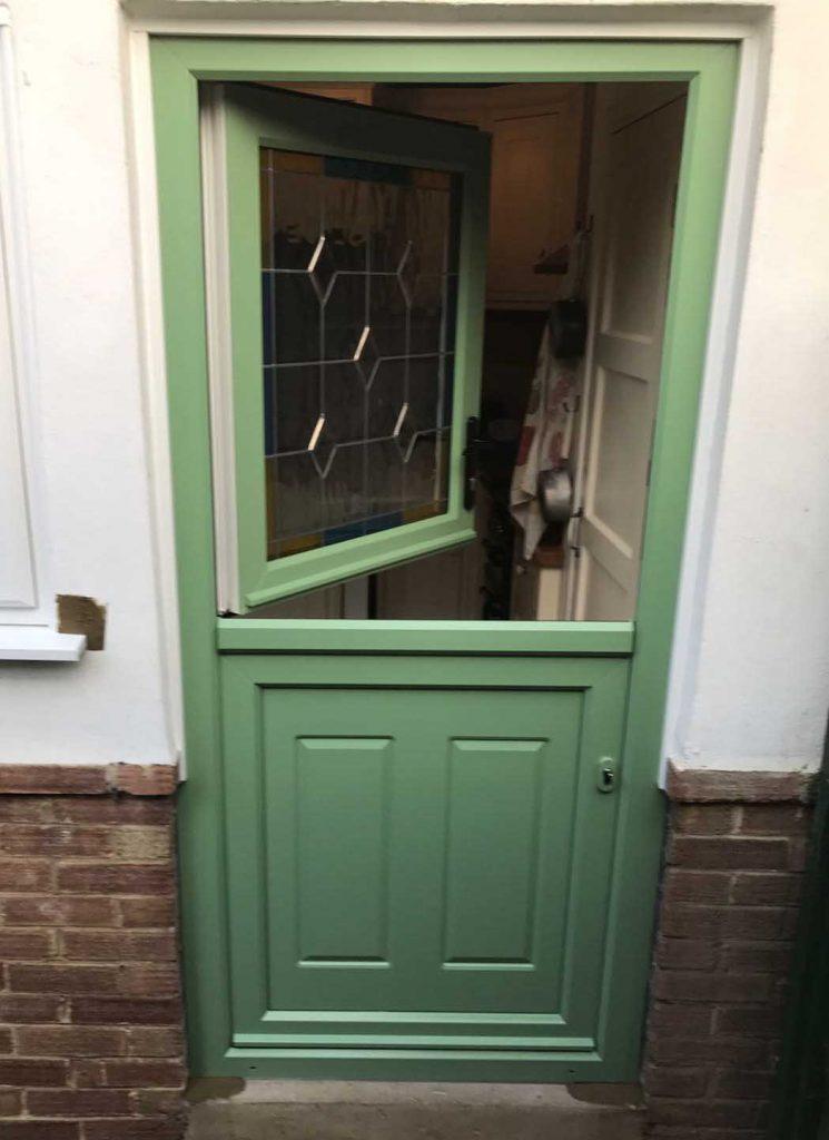Green Back Door